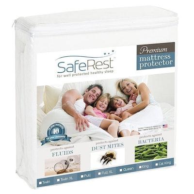 SafeRest Premium Mattress Protector, Queen