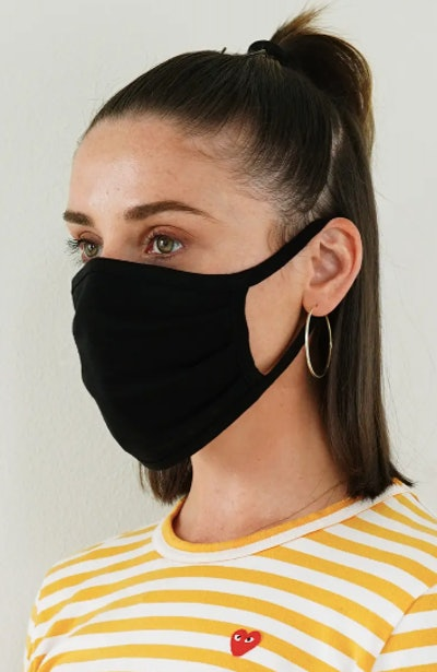6-Pack Adult Pleated Cotton Face Masks