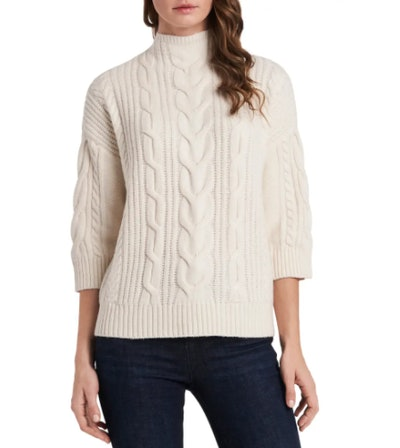 Vince Camuto Cable Stitch Sweater