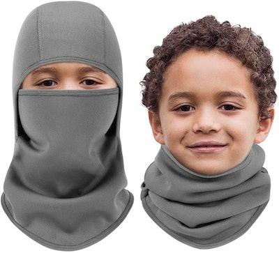 Aegend Kids Balaclava Windproof Ski Face Warmer