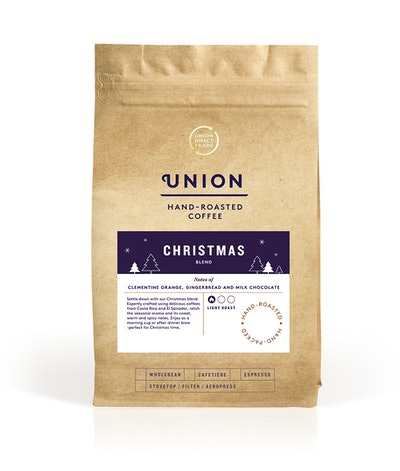 Union Hand Roasted Coffee Christmas Beans