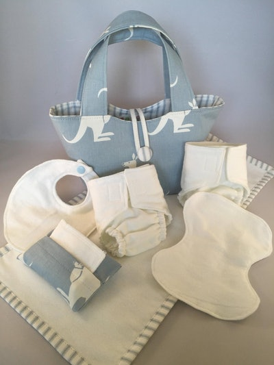 TheWildflowerPatch Doll Diaper Bag