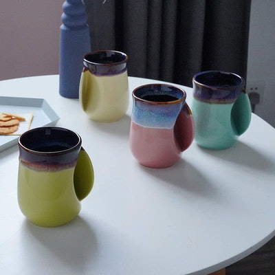 Selamica Porcelain Hand-Warmer Mug