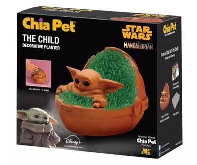 """As Seen on TV Chia Pet Star Wars """"The Child"""""""