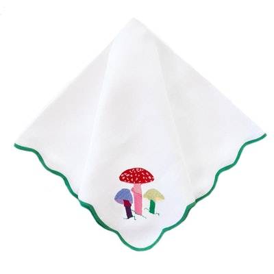 Magic Mushroom Wave Dinner Napkin