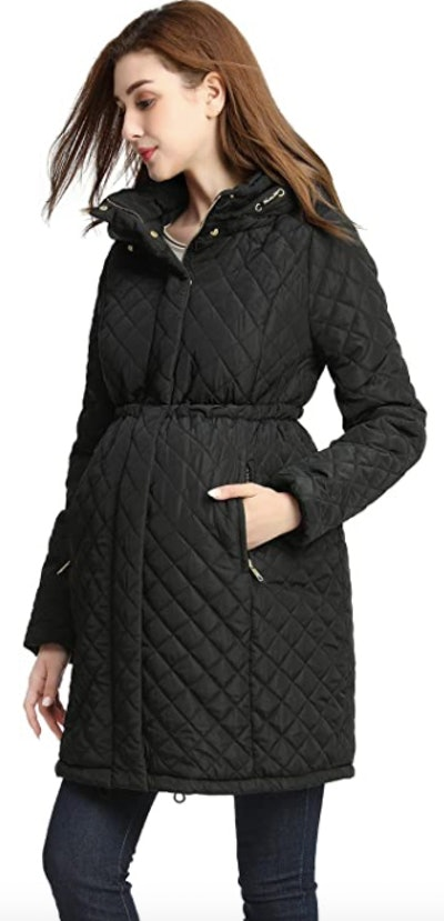 Momo Maternity Quilted Coat