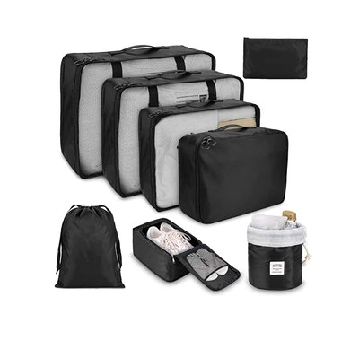 Dimj Packing Cubes for Travel (8-Pack)