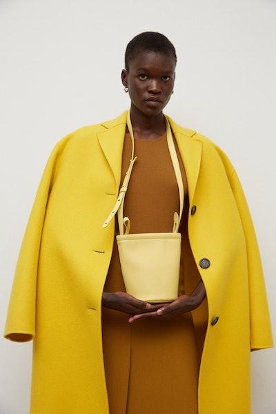 Mini Zip Bucket Bag