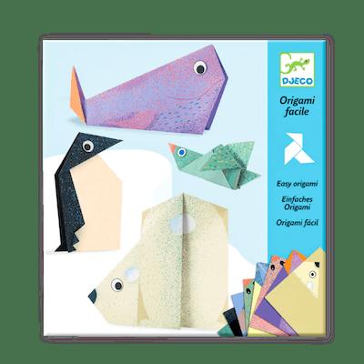 Djeco Arctic Animals Origami Set (5+)