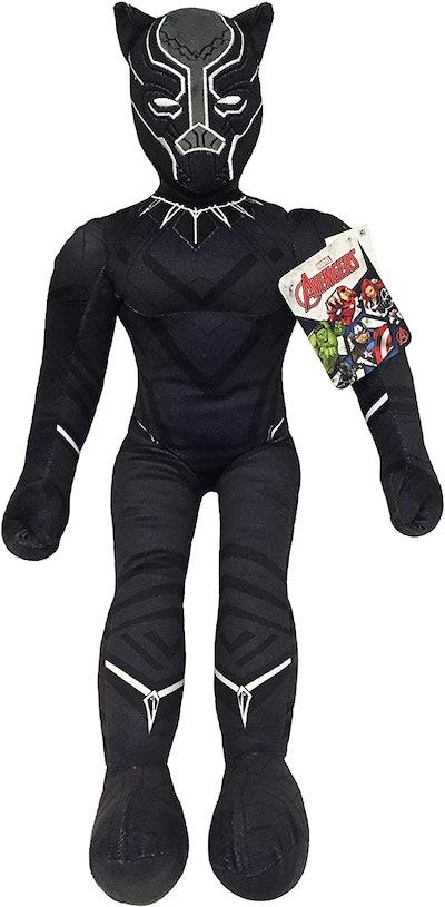 Marvel Black Panther Plush Stuffed T'Challa Pillow Buddy