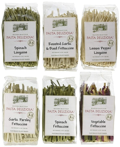 Pasta Deliziosa Handcrafted Pasta Variety Pack (6-Pack)