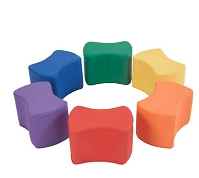 FDP SoftScape 10 Inch Butterfly Stool Modular Seating Set