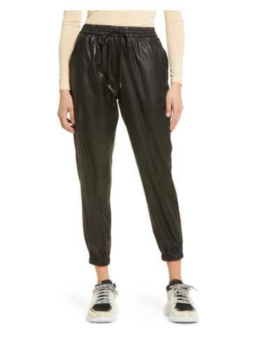 BlankNYC Faux Leather Joggers