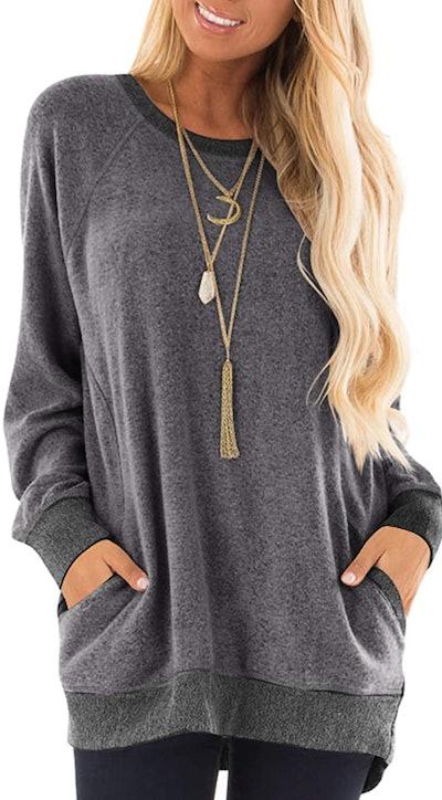 GADEWAKE Women's Casual Sweatshirt
