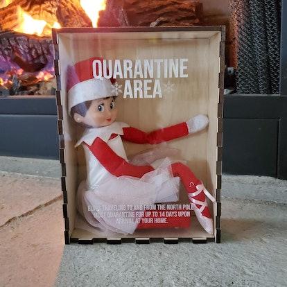 Elf Doll Quarantine Box