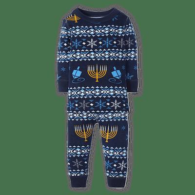 Eight Nights Long John Pajamas