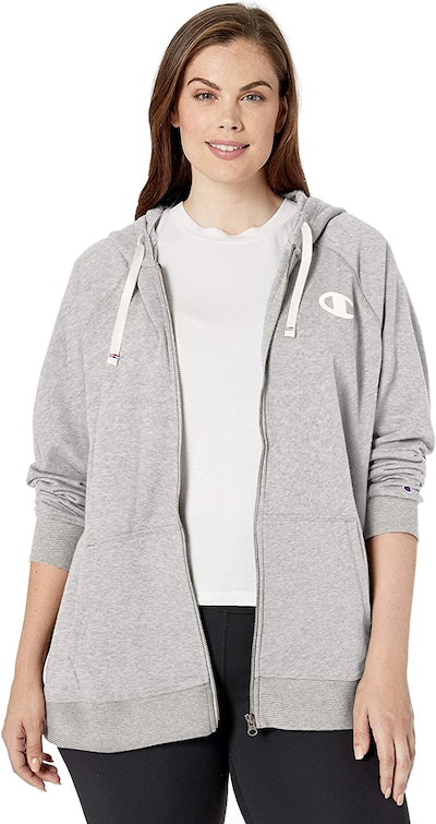 Champion Women's Plus-Size French Terry Zip Hoodie