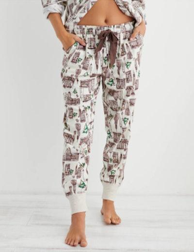 Aerie Flannel Pajama Jogger