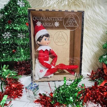 Christmas Elf Quarantine Box