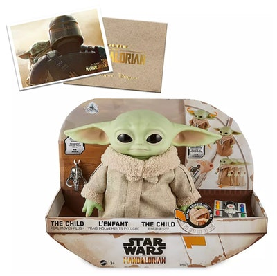 The Child Real Moves Plush by Mattel – Star Wars: The Mandalorian – Pre-Order