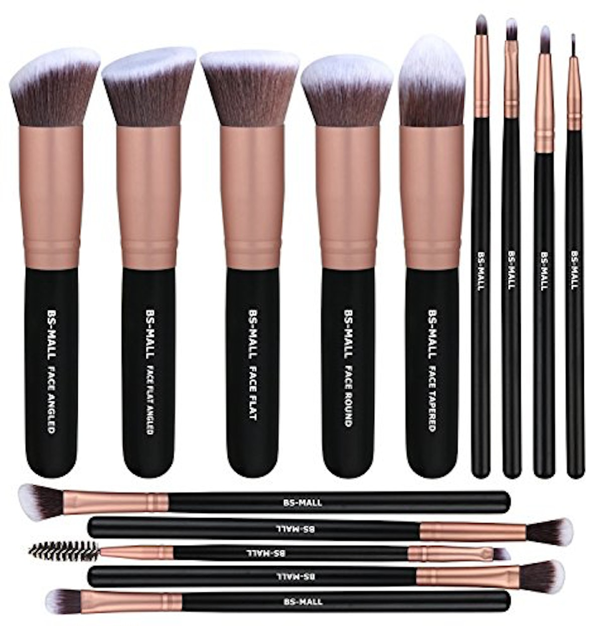BS-MALL Makeup Brushes (Set of 14)