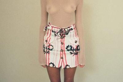 Trachten Tricot Skirt