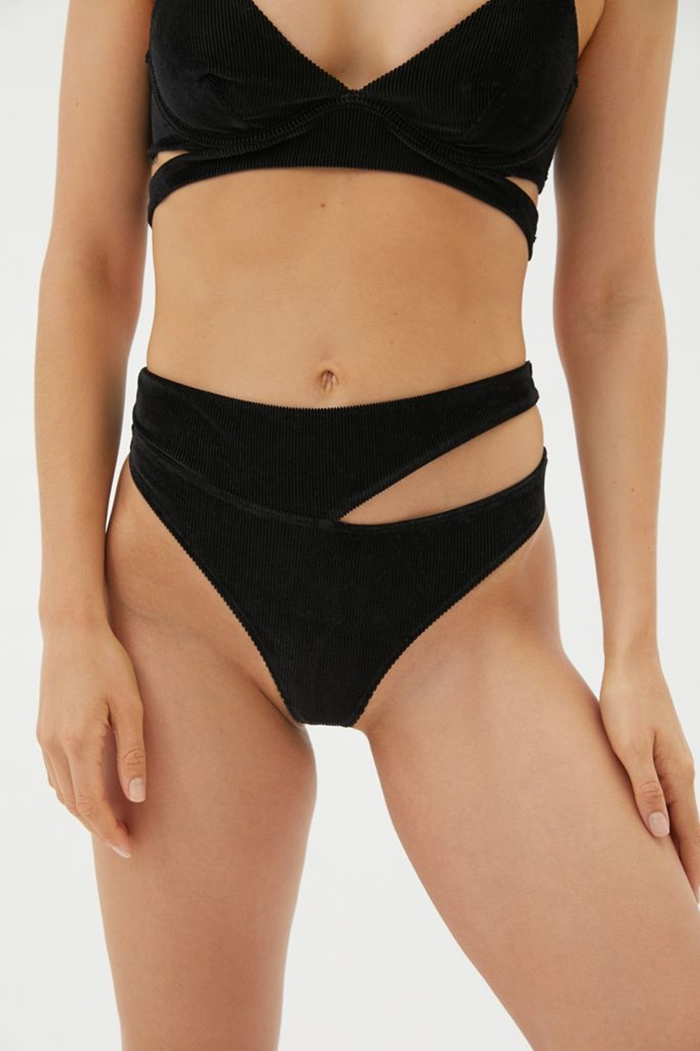 Out From Under Cut It Out High-Waisted Thong