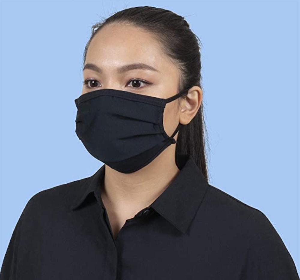 Gildan Reusable 3-Ply Cotton Face Masks (24-Pack)