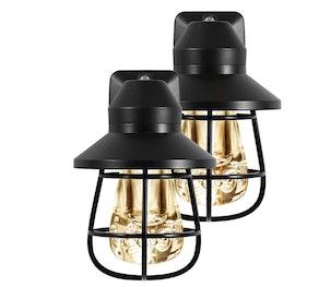 GE Vintage LED Night Lights (Set of 2)