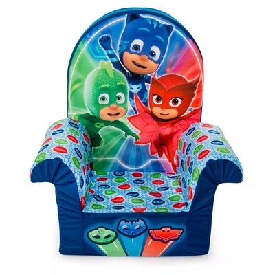 Marshmallow Furniture Comfy Foam Toddler Chair