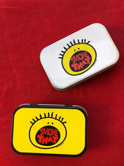 """""""All That"""" Themed Joint Kit with Mini Grinder, Mini Clay Ashtray, RAW tips, Elements Rolling Papers,..."""