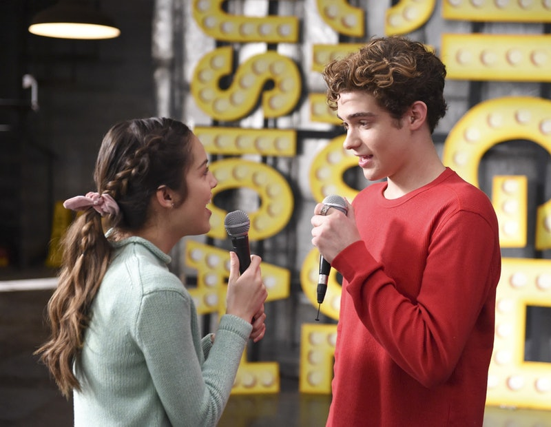 Ricky and Nini on 'High School Musical: The Musical: The Series' via the Disney+ press site