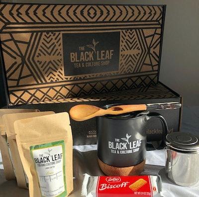 Holiday Box With Tea, Mug, And Accessories