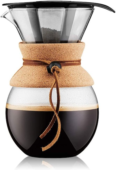 Bodum 11571-109 Pour Over Coffee Maker with Permanent Filter