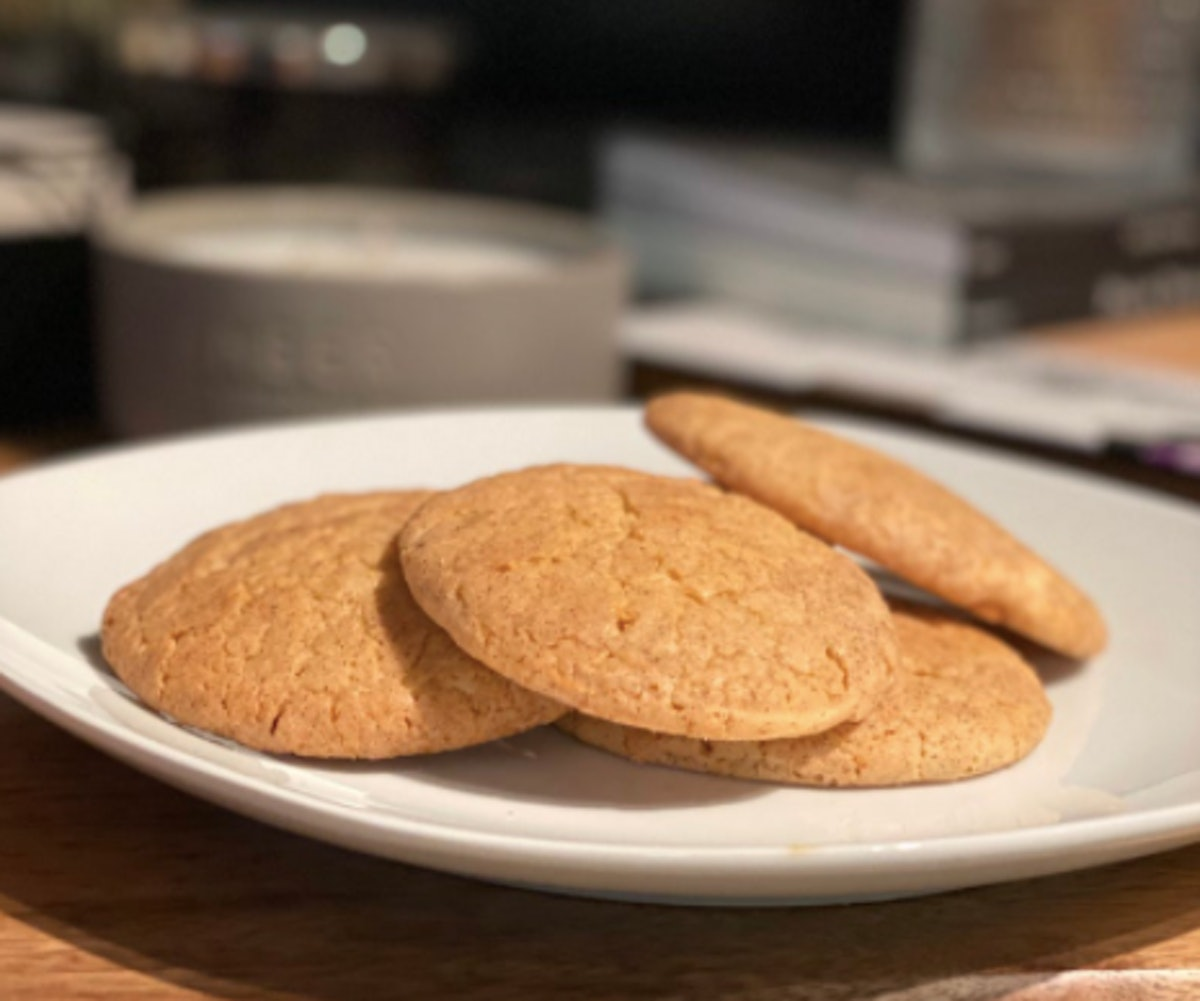 Snickerdoodle Spiced Cookies