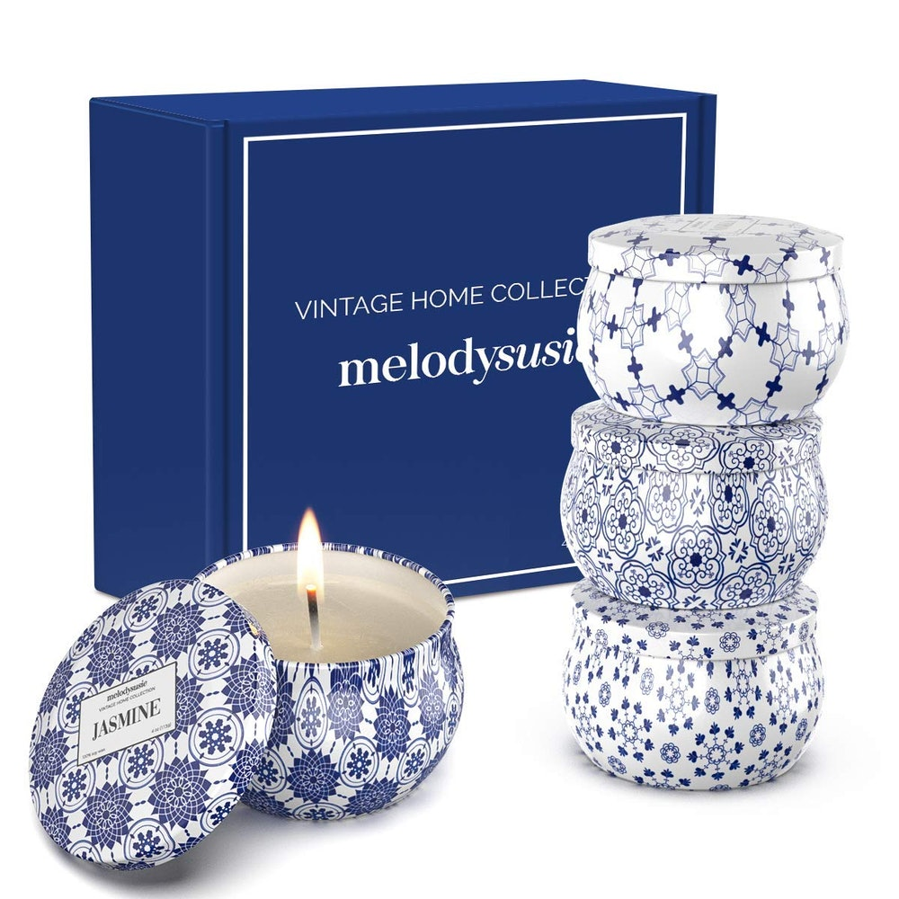 MelodySusie Aromatherapy Scented Candles (4-Pack)