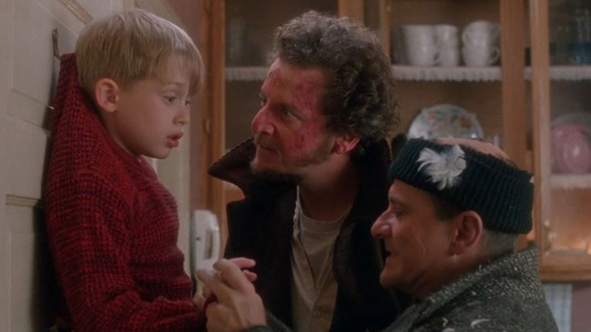 scene from 'Home Alone'