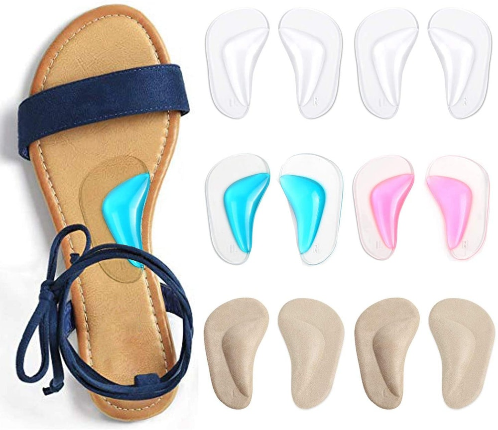 Urchoice Gel Arch Support Cushions (6-Pack)