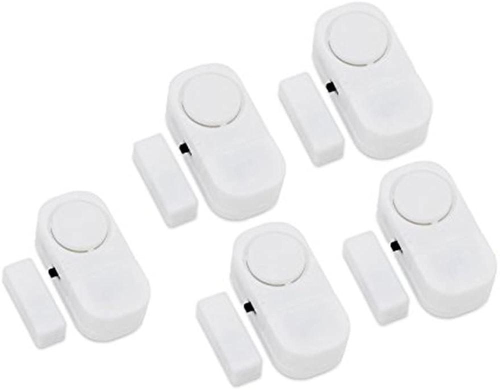 Hiistar Window & Door Alarm Bell (5-Pack)
