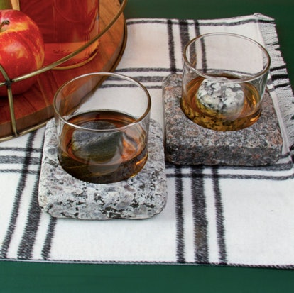 Cool Coaster Set - Whiskey and Scotch Chillers, Freezer to Table, Barware