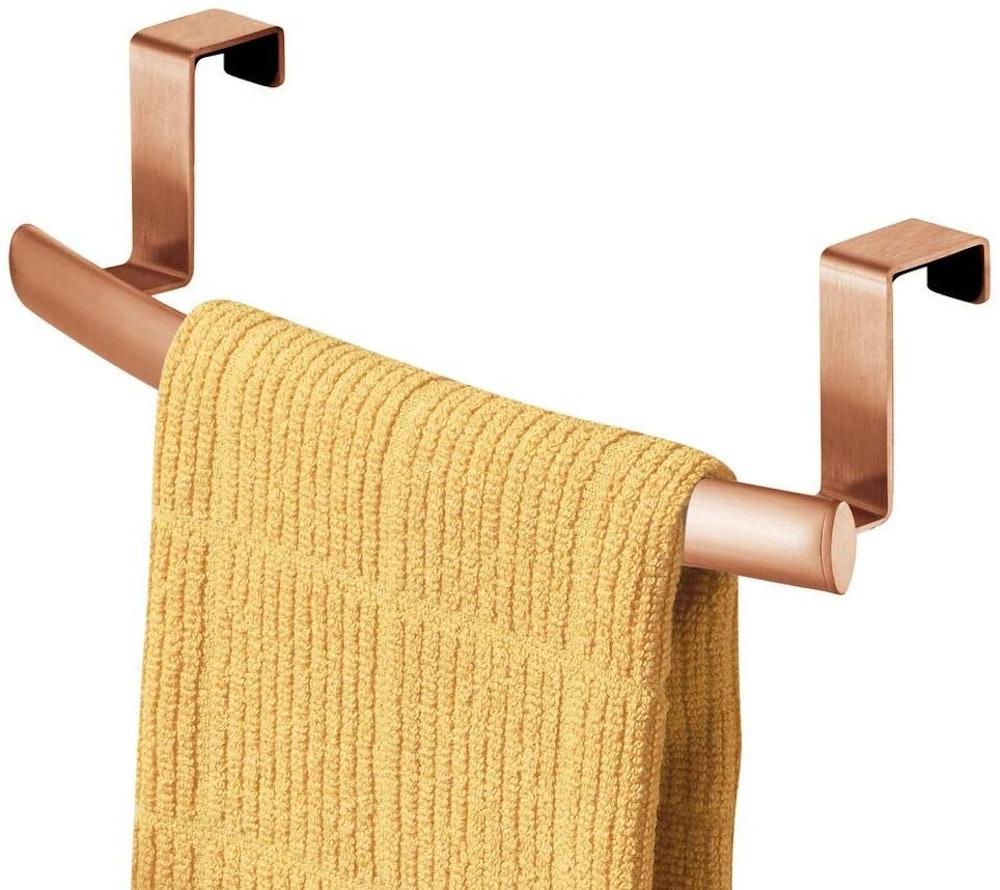 mDesign Over-Door Towel Rack
