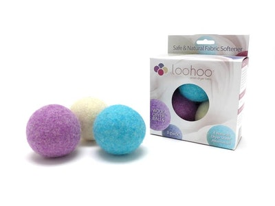 Wool Dryer Balls Deluxe Starter 3-Pack