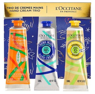 L'Occitane Holiday Hand Cream Indulgences Trio Set
