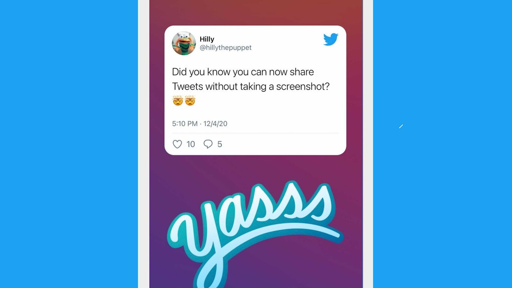 Can you share tweets on Instagram? Here's what to know.