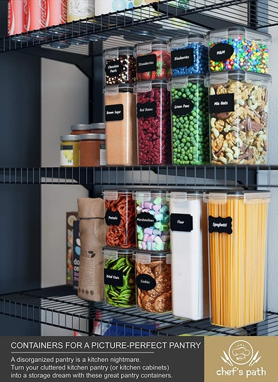 Chef's Path 14-Piece Airtight Food Storage Container Set