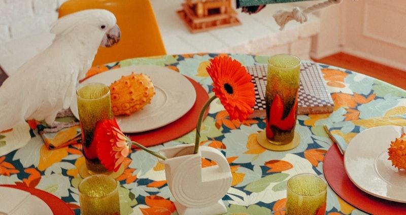 Simon Miller's home collection, CaSa, includes decor pieces for the table
