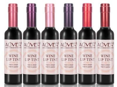 MianYang Wine-Shaped Lip Tints (6-Pack)