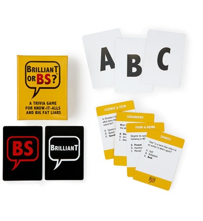 Brilliant or BS? Trivia Card Game