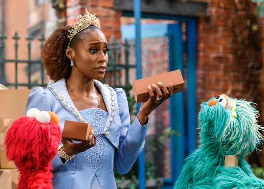 Issa Rae plays a royal queen with a problem in the latest episode of 'Sesame Street.'