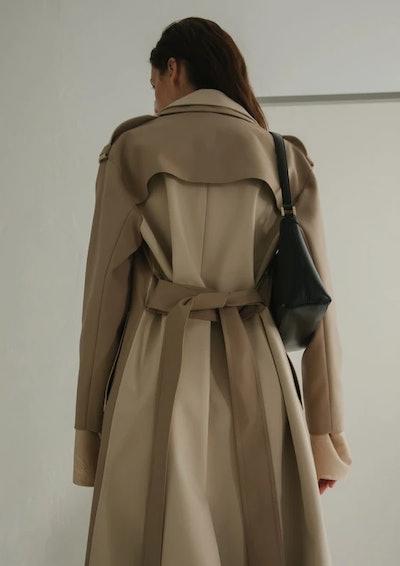 Olivia Coat Two Tone